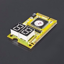 Placa De Diagnóstico Pc Analyser Mini Pci + Mini Pci-e + Lpc