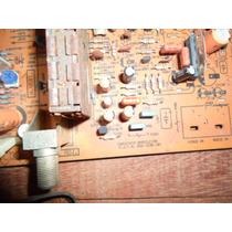 Placa Componentes Tv Antiga - P.z.f.m. B55 1536 104 - Usada