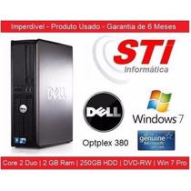 Dell Optplex 380 Core 2 Duo 2gb Memoria Hd 250gb