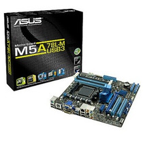Kit Placa Mãe Asus M5a78l-m/usb3 + Fx6300 + 4gb Ddr3 #retira