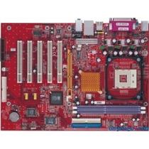 Placa Mãe Pc Chips M960g P/ Processadores Intel Soquete 47