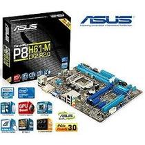 Placa Mãe Asus P8h61-m Lx3 R2.0 Lga1155 Intel H61 Sata 3gbs