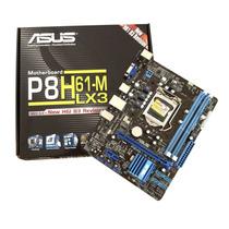 Placa Mãe Asus P8h61-m Lx3 Lga1155 Core I3 I5 I7 Frete Grati