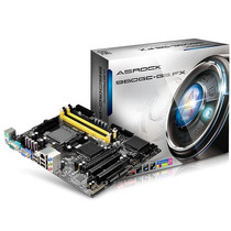 Placa Mãe Asrock 960gc-gs Fx Am2 Am3 Am3+ Pcie 2 ##sp Retira