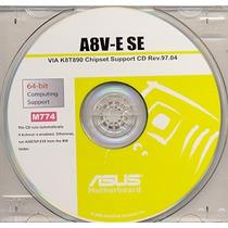 Cd Drivers Original Placa Mae Asus A8v-e Se Frete Gratis