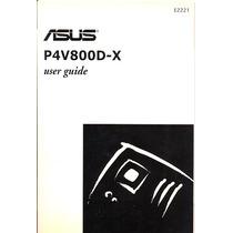 Manual Original Placa Mae Asus P4v800d-x Frete Gratis
