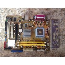 Placa Mãe - Socket 775 - Asus - Modelo: P5gc-mx - Usada