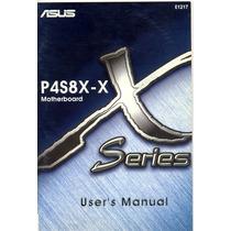 Manual Original Placa Mae Asus P4s8x-x Frete Gratis