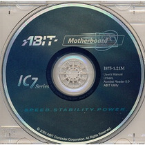 Cd Drivers Original Placa Mae Abit I875-1.21m Ic7 Series