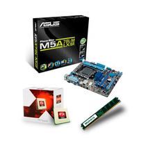 Kit Asus M5a78l-m Lx+ Bulldozer X4 Fx-4300 3.8ghz + 4gb Ddr3