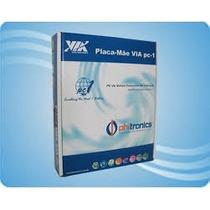 Placa Mãe Pc3000e+ Processador Via