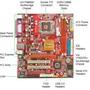 Placa Mae Pcchips P29g+processador P4 Intel 3.0 Ghz