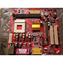 Placa Mãe Pcchips M810l Socket 462. Athlon / Duron. Garantia