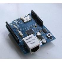 Arduino Ethernet Shield W5100+ Leitor Micro Sd Rede Internet