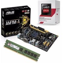 Kit Asus Am1m-a/br + Amd Athlon 5150 Quad Core + 8gb Memória