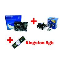 Kit I3 4170 + Ipmh81g1 + 8gb Memória Kingston