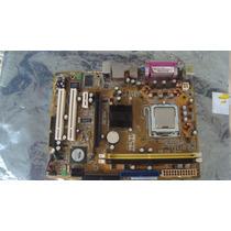 Kit Placa Mae Asus P5v-vm Ultra+ Corel +memoria1gh +cooler+e