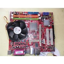Kit Lga 775 Placa Ddr2 Pci-e Msi 945 + Cooler Toda Onboard