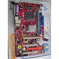 Placa Mãe Nova Na Caixa 915pl Neo-v Com Agp E Pci-express