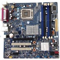 Placa Mãe 775 Ddr2 P/ Dual Core 2 Duo Quad Até 8gb Memória