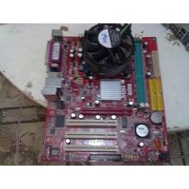 Kit Lga775 Msi Pm8m3-v + Celeron D331 2.66 + Cooler + 256mb