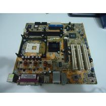 Placa Mãe Intel 478 Asus Com Defeito Lote 2 Placas