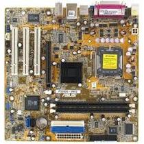 Placa Mãe Asus P5s800-vm 775 Nova, Sem Caixa, + Acessórios