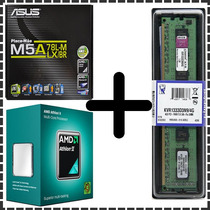 Kit Dual Core Asus M5a78 + Amd X2 270 3.4 Ghz + 8gb Kingston