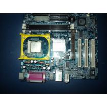 Placa Mae Com Processador P4 ,socket 478