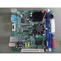 Placa Mãe + Processador Intel Atom 1.6ghz Ddr2 945gcd