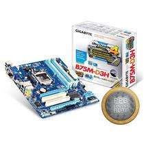 Placa Mae Lga 1155 Intel Gigabyte Ga-b75m-d3h 32gb Ddr3 160