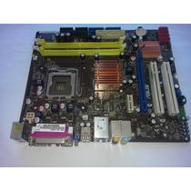 Placa Mãe Asus P5kpl-am 775 Ddr2 Intel G31 P/ Core 2 Quad