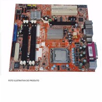 Placa Mae Foxconn Infoway St 4150 Lga 775 Com Proc 2,66 Ghz
