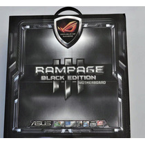 Placa Asus Rampage Iii Extreme Black Edition 1366, X58, R3e