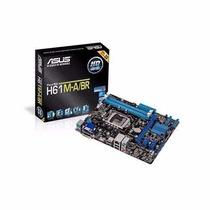 Placa Mae Asus Intel I3/i5/i7 H61m-a/br Lga1155 C/nfiscal