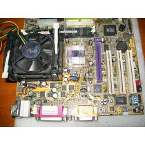 A253 Kit Gigabyte Ga8s650gxm 478 P4 2,66ghz+256mb