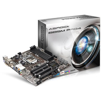 Placa Mãe Asrock Sata3 6,0 Gb Intel B85m Pro4 Lga1150 Ddr3