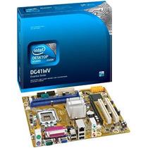 Placa Mãe Intel Dg41wvbr - Nova, Na Caixa Lacrada.em Salvado
