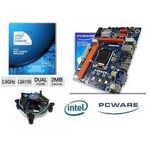 Kit Ipmh61p1 Ddr3 1155 Hdmi + Intel Dual Core G1610 2,6ghz
