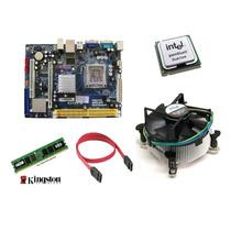 Kit Placa G 31vs-m + Dual Core E 2140 + Cooler + 1gb Ram