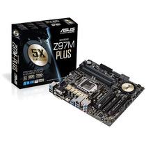 Placa Mãe Asus Z97m Plus + Core I7 4790 Box. Novo /gar. /n.f