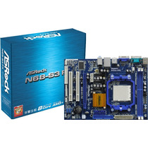 Kit Asrock N68-s3 Fx + Fx 4100 3,6ghz A 3.8ghz + 4 Gb Ddr3!