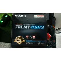 Kit Placa Mãe Gigabyte 78lmt-usb3 + Amd Fx 6100 3.3ghz