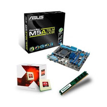 Kit Asus M5a78l-m Lx + Bulldozer Fx-4300 8mb + 4gb Ddr3 King