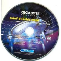Cd Drivers Original Placa Mae Gigabyte Intel 875 / 865 / 848