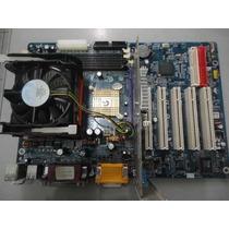Kit 478 Placa Mãe + Processador P4 2.4