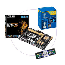 Kit Asus H81 H81m Lga1150 H81 + Intel I5 4460 3.4+ Mem 4 Gb