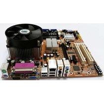 Kit Socket Lga 775 + Processador + Cooler + 2gb Ddr2 Ou Ddr1