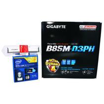 Kit Gigabyte Ga-b85m-d3ph + Intel I5 4440 + 8gb Hyper Fury