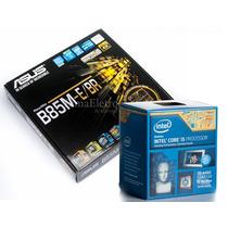 Kit Placa Mãe Asus B85m + Cpu Intel Core I5 4460 3.2 Ghz
